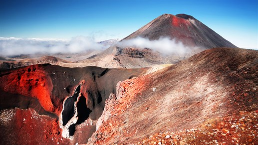 Mount Ngauruhoe - new zealand