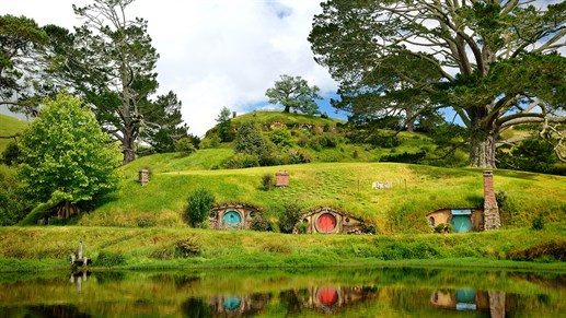Hobbiton - Nordøya - New Zealand