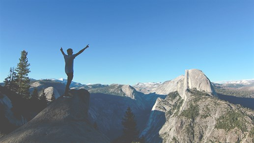 Glacier Point, Yosemite Valley, USA