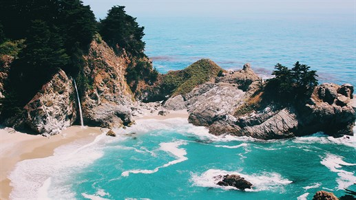 Big Sur, Pfeiffer State Beach