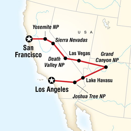 Los Angeles to San Francisco Express