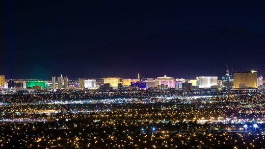 Las Vegas by night!