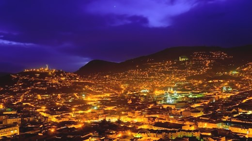 Quito @ night
