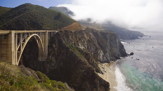 Bixy Bridge, Big Sur, California