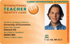 ITIC - International Teacher Identity Card (lærer)