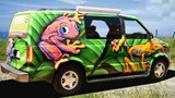 Lei en campervan i USA