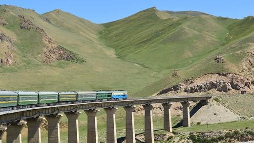 Bilderesultat for transmongolske jernbanen