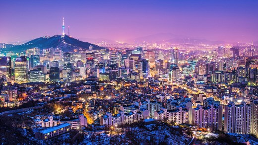 Reis til Seoul - The city that never sleeps